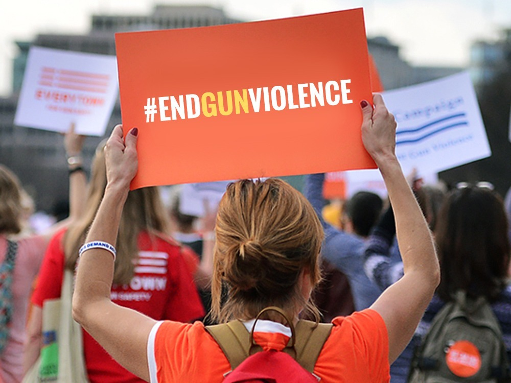 Picture of template 'End Gun Violence. Enough is enough. '