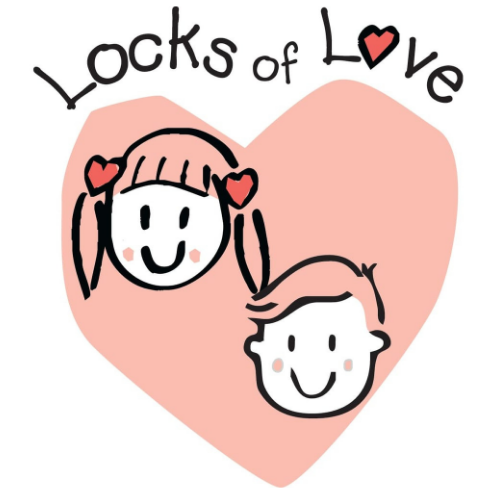 Picture of charity 'Locks of Love'